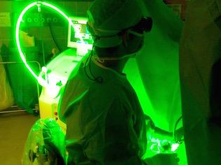 Green Light Laser
