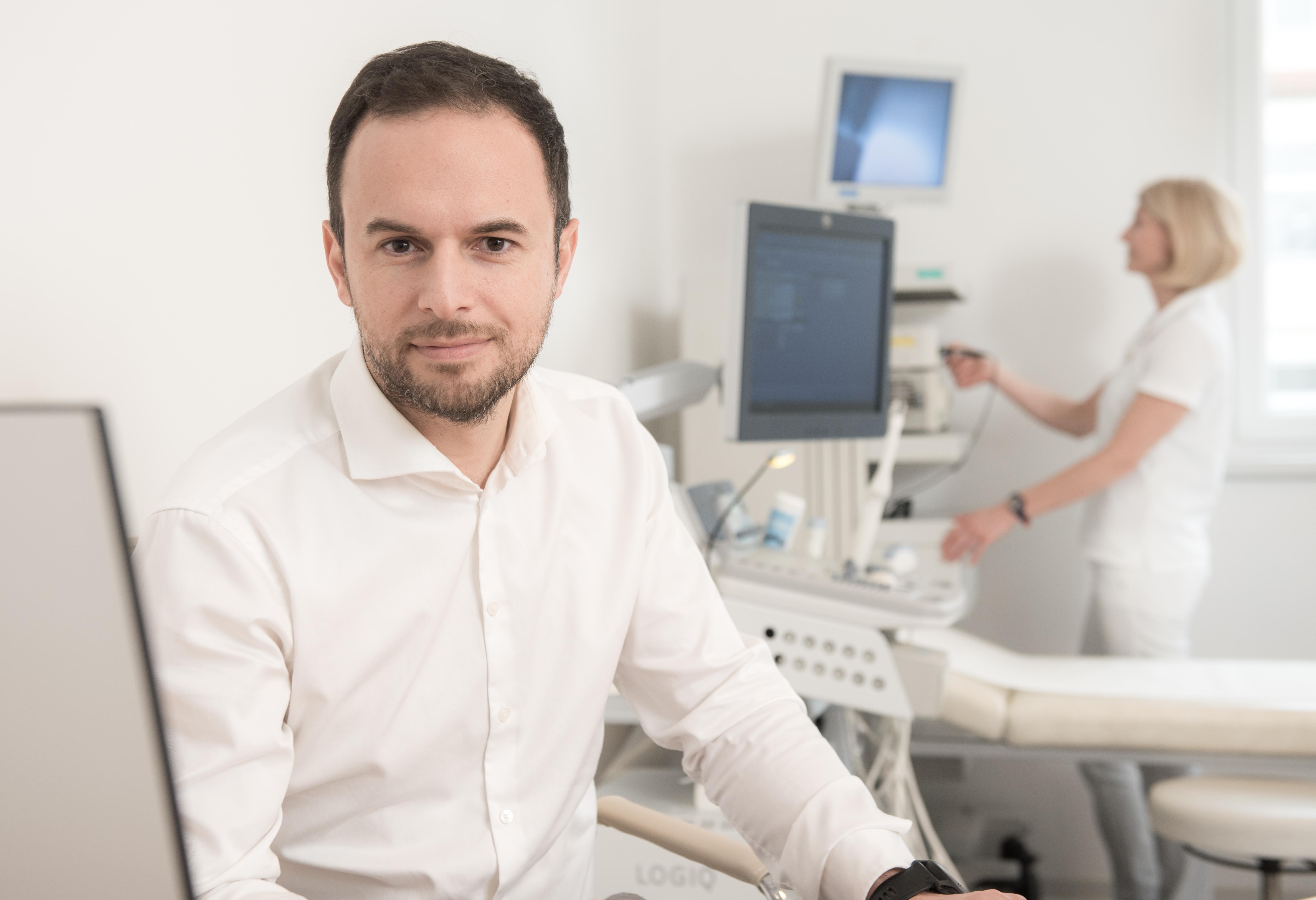 Dr. Johannes Buchegger und Assistenz in Urologie Ordination